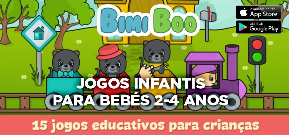 JOGOS INFANTIS PARA BEBÉS 2-4 ANOS